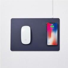[브로스앤컴퍼니] 파우트 HANDS3 무선충전 마우스패드 (미드나잇 블루)